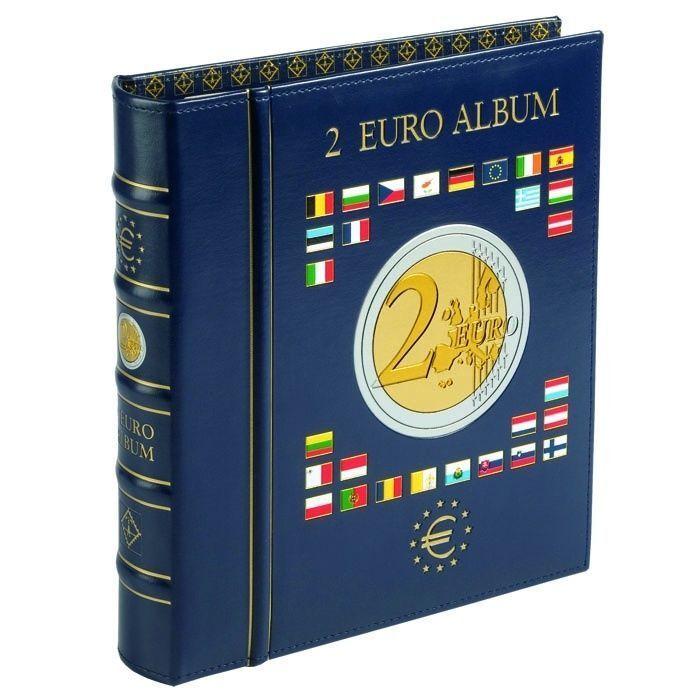VISTA Album for 2 Euro Coin Collection Currency Collection Leuchtturm 341017