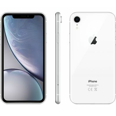 APPLE IPHONE XR 64GB WHITE 6.1  NUOVO BIANCO GAR 24 MESI SMARTPHONE 64 GB X R