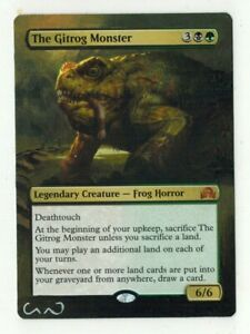The-Gitrog-Monster-Altered-Full-Art-MTG-Magic-Commander-cEDH-2020-Gift-Birthday