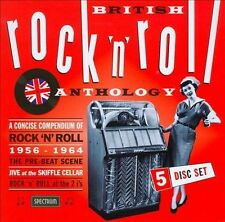 British Rock 'n' Roll Anthology [Box] by Various Artists (CD, Mar-2009, 5...