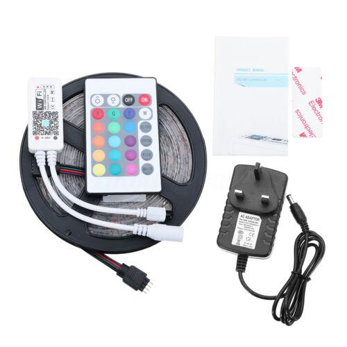 10M RGB LED Smart Home WIFI Strip Light App Control Waterproof Lamp For Alexa