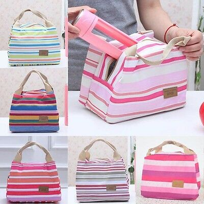 Fine Portable Insulated Thermal Cooler Lunch Box Carry Tote Storage Bag Picnic