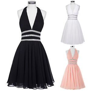 Mini Sexy Bridesmaid Masquerade Ball Gowns Evening Party Formal ...
