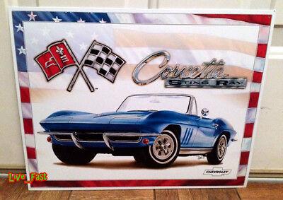 Z06 Corvette Dr Chevrolet Corvette Metal Sign