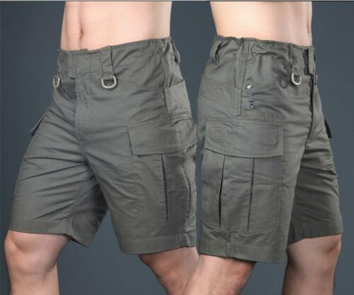 Men/'s Tactical Shorts Combat Cargo Short Pants City Casual Outdoor Army Military