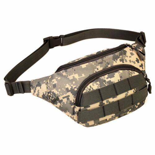 Military Fanny Pack Tactical Waist Bag Pack Water-resistant Hip Belt Bags Pouch