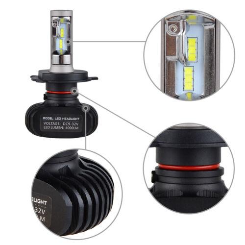 H4 9003 LED For Toyota RAV4 1996-1997 2001-2005 Headlight Hi//Low Beam Bulbs Kit