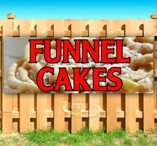 Funnel Cakes Advertising Vinyl Banner Flag Sign Many Sizes Fair Food Carnival
