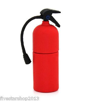 Fire Extinguisher USB 2.0 Memory Stick Flash pen Drive 8GB 16GB 32GB 64GB USB161