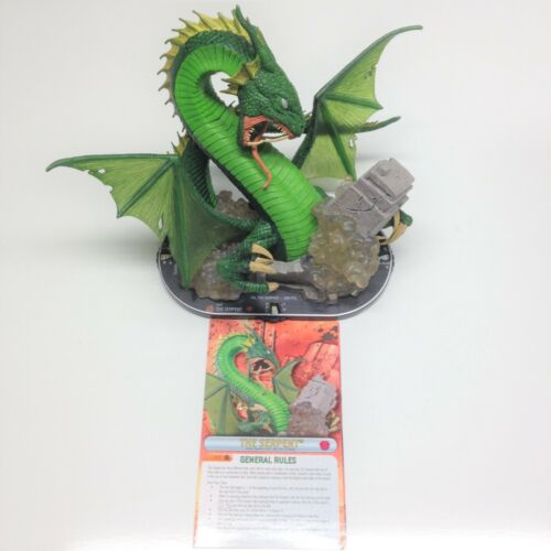 Heroclix Fear Itself set The Serpent #107 Limited Edition figure w/card!