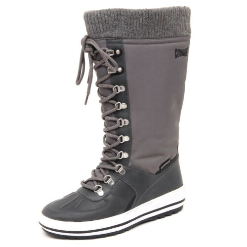 D8502 without box stivale donna tissue COUGAR VANCOUVER grey snow boot woman