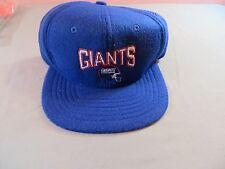 Vtg Deadstock Super Fleece NY New York Giants Adustable Hat Baseball Cap NWT