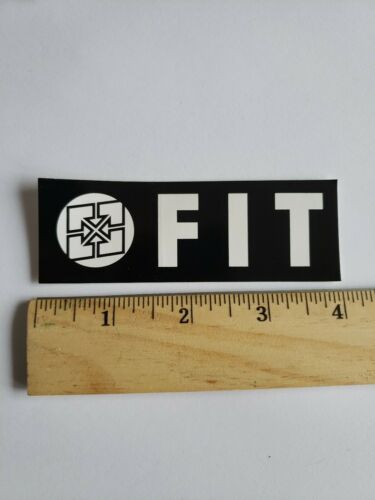 Fit F-it BIKE STICKER BMX Street Ride Race MB decal bicycle Authentic  Sticker