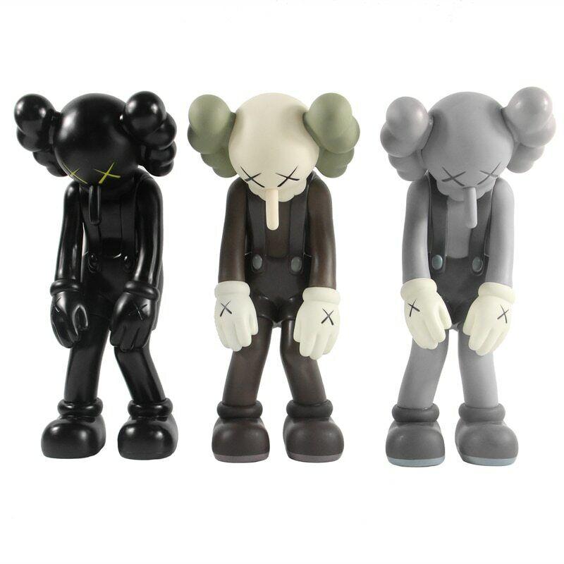 OriginalFake Kaws Smtutti Lie lungo Nose giocattoli  PVC azione cifra 27CM Trend Artists  benvenuto per ordinare