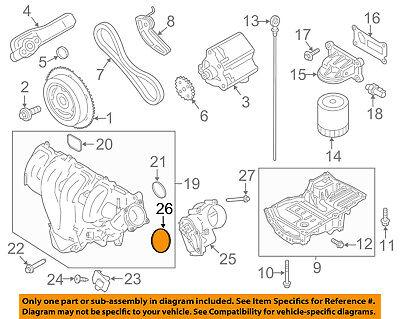 FORD OEM Throttle Body-Gasket 1X4Z9E936AA