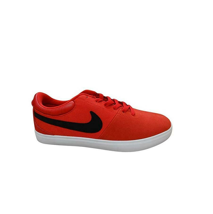 Mens NIKE RABONA LR Red Suede Trainers 641747 601
