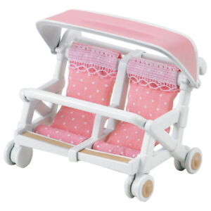 Calico-Critters-Sylvanian-Families-Sylvanian-Family-Double-Baby-Buggy-Carriage