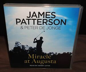 James-Patterson-Miracle-At-Augusta-CD-AUDIO-BOOK-2015-4-Discs