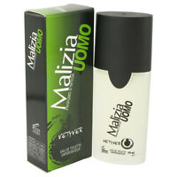 Malizia Uomo Vetyver Cologne Mirato Men 1.7 Oz Edt Spray