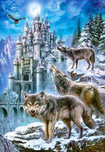 Castorland C-151141-2 - Wolves And Castle,Puzzle 1500 Teile - Neu