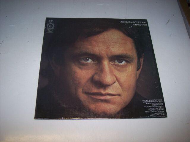 LP<<JOHNNY CASH<<UNDERSTAND YOUR MAN **NM VINYL**  **SHRINKWRAP**   30