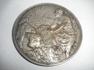 ** Tolle Nude Männchen Jugendstil Medaille 1938 Agustin S