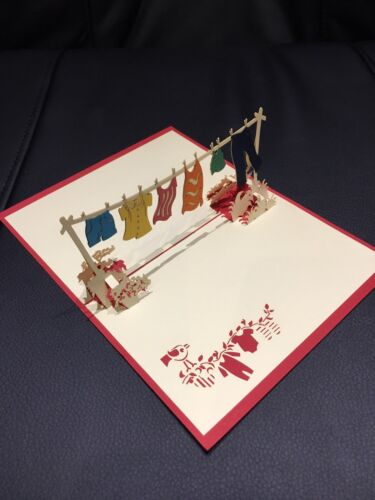 All occasions handmade card 3d pop up /& origami