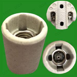 40x-pequenas-Rosca-Edison-E14-ses-Zocalo-De-Ceramica-Bombilla-titular-Calor-lamparas-a-altas