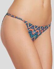 Sofia by Vix Swim Folk String Brazil Bikini Bottom Sz M (i21)