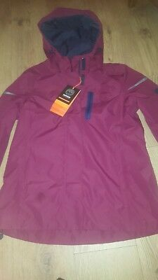 Clothing, Shoes & Accessories Coats, Jackets & Vests Cherry Bright In Colour Fat Face Performance The Sales Jacket Size 12 Bnwt Red