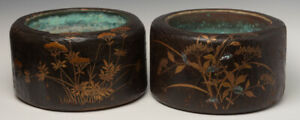Late-19th-C-Meiji-A-Pair-of-Antique-Japanese-Keyaki-Wooden-Hibachi-Vessels
