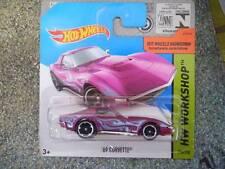 Hot Wheels 2014 #214/250 Chevy 1969 CORVETTE Purple Batch M