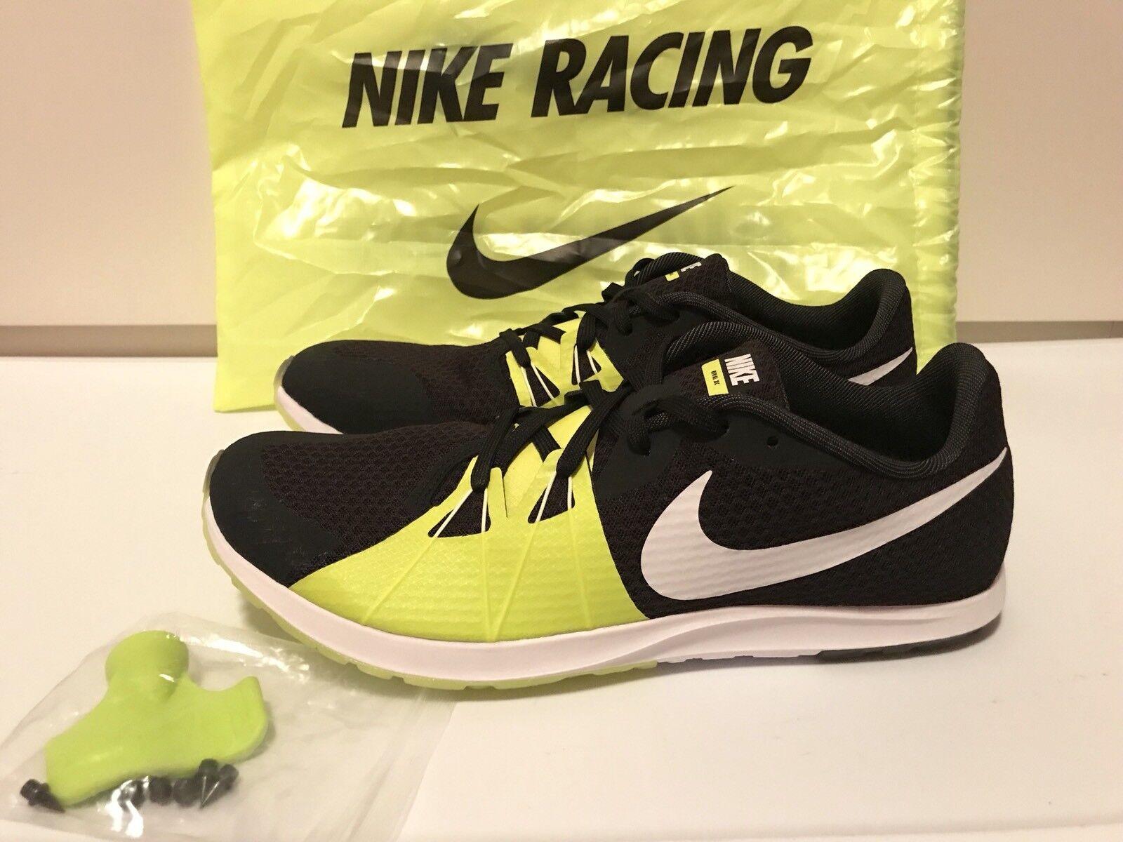 Nike Zoom w rival XC Racing zapato w Zoom / Spike / herramienta.SZ 12 Negro / Volt / blanco 904718-017 afc3a7