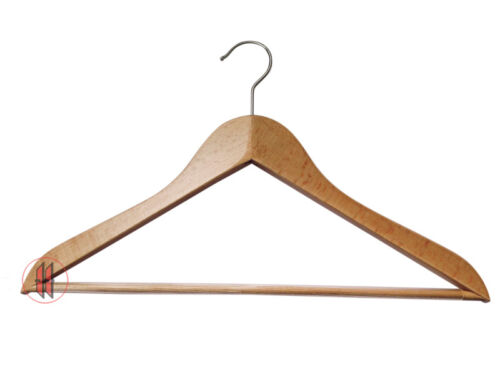 Kleiderbügel Holzbügel Businessbügel Standard Rockkerbe Hosensteg NEU