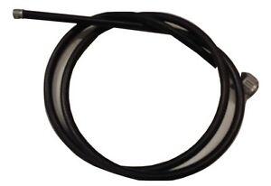 ukscooters VESPA FRICTION FREE GEAR CABLE INNER OUTER BLACK X 2 NEW PX LML T5 PK