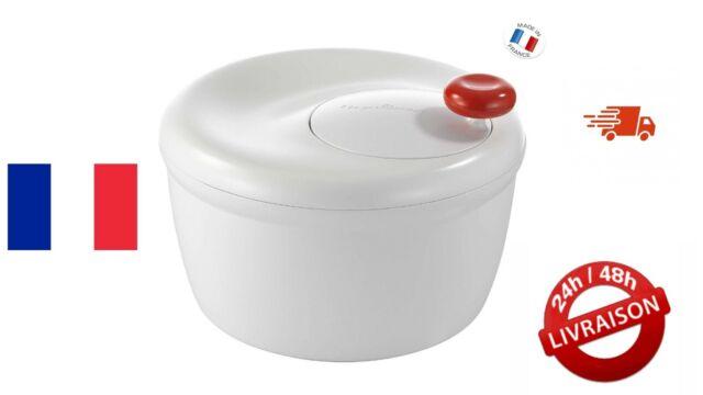 Essoreuse a Salade - Essorage Facile et Rapide, Bouton Stop, Blanc Moulinex