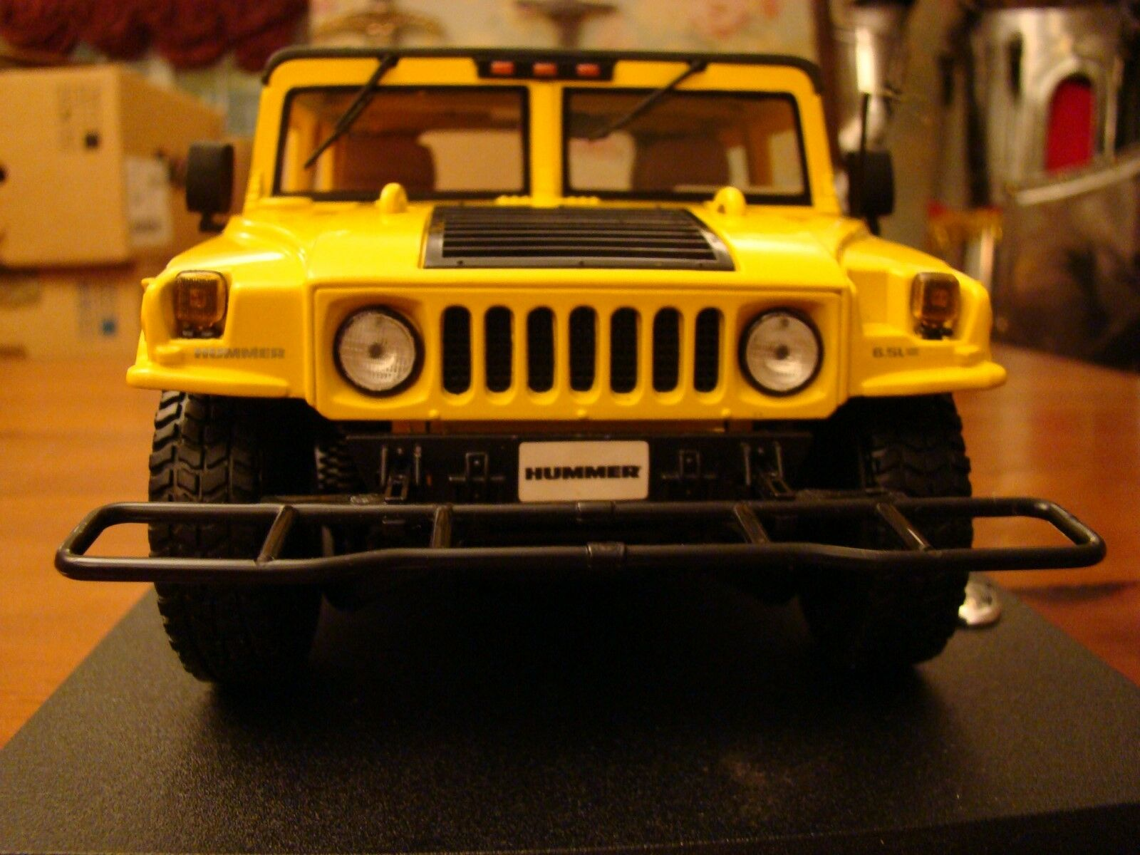 1 18 Hummer H1 Soft Top Turbo Diesel 4WD CTIS Yellow Rare