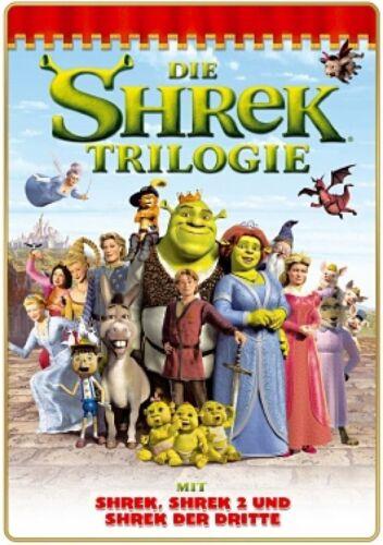 1 von 1 - Die Shrek Triologie - 1,2,3 Teil - 3 DVD Box