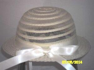 selezione migliore acquista online presa CAPPELLO CERIMONIA IN PAGLIA BIMBA | eBay