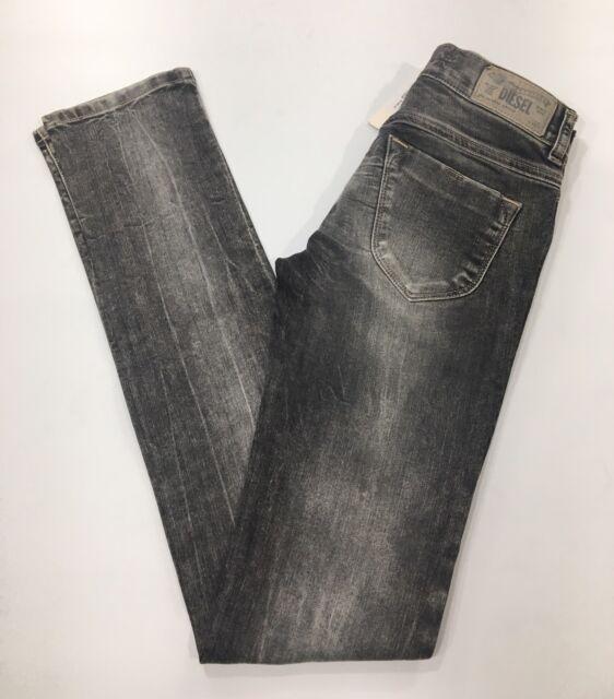 "cfe57a30 Diesel Women's LIVIER Super Slim-Jegging Low Waist Jeans Size 25x32"" (F141)"