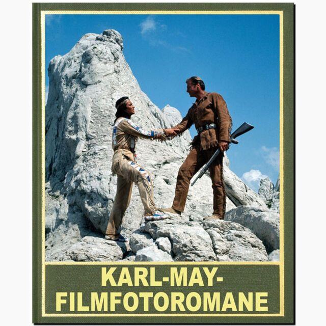 Karl May Filmfotoromane aus Micky Maus und Mickyvision Winnetou Michael Petzel