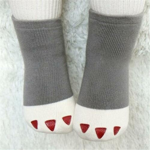 Newborn Baby Boy Girl Cartoon Cotton Socks Infant Toddler Kids Soft Sock BT3