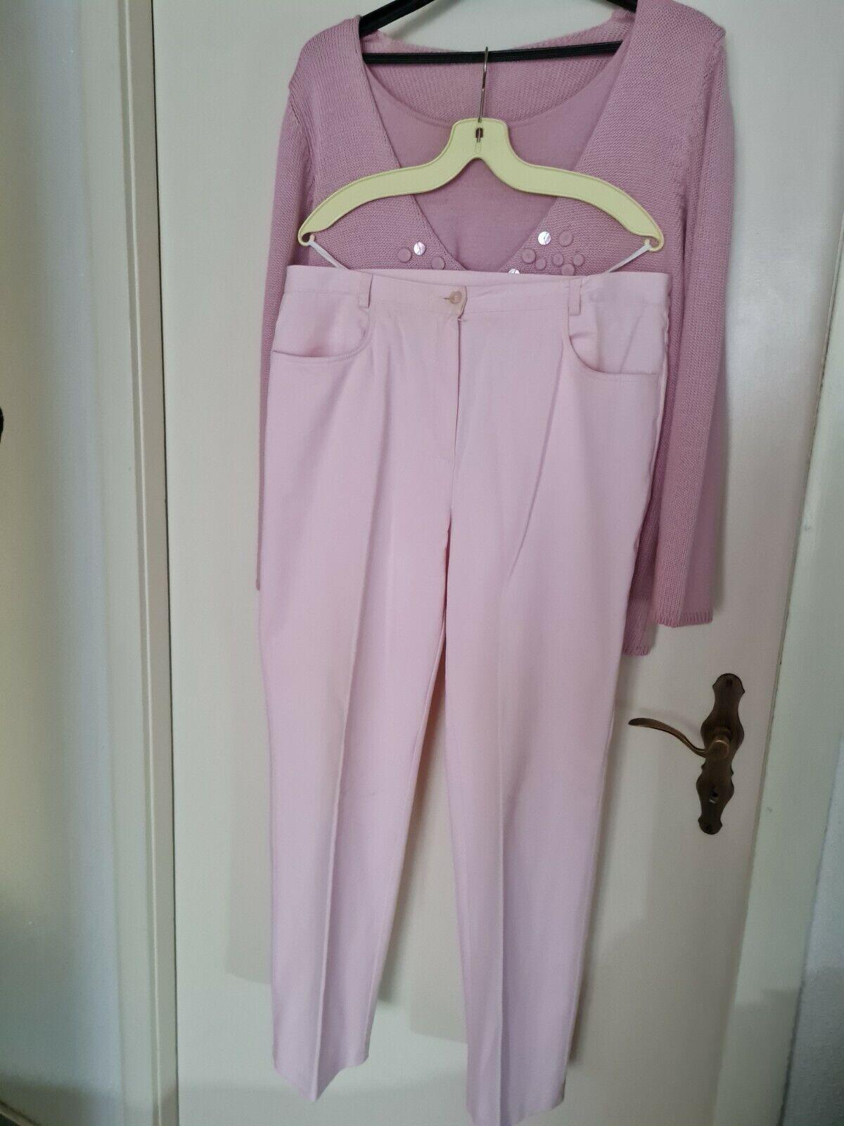 2 Teile Set - Pullover + Hose Gr 46 neuwertig und wunderschön Damen Bekleidung