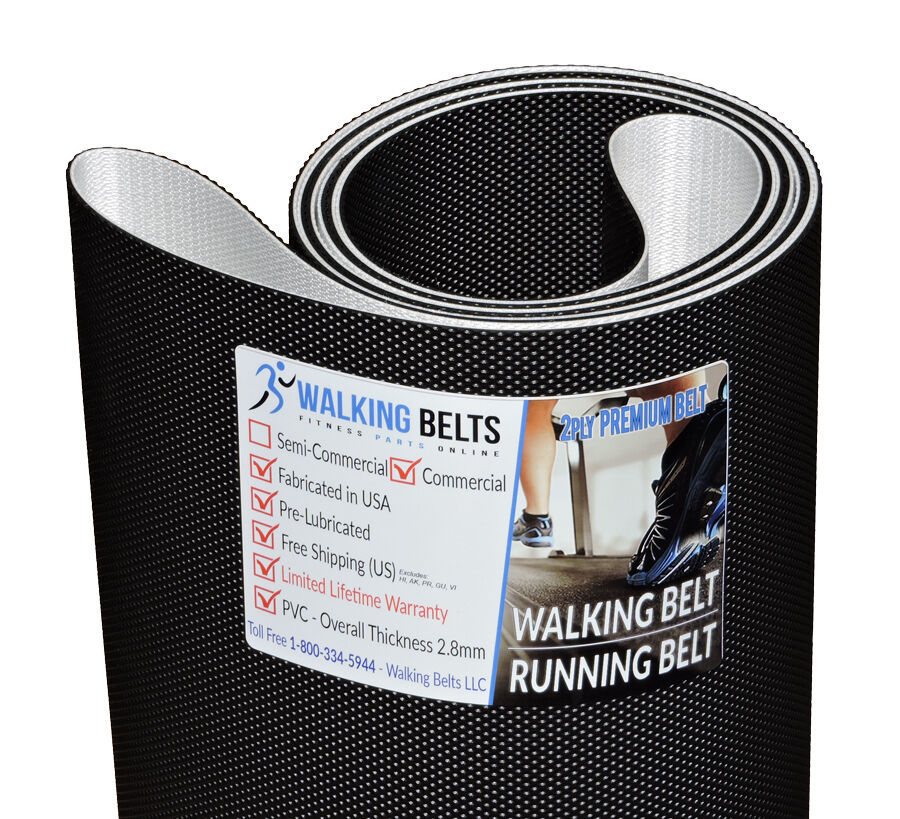 Precor C966 V2 S/N: T9 Treadmill Walking Belt 2ply 2ply Belt Premium + Free 1oz Lube fb98f4