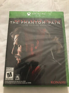 Metal Gear Solid V: The Phantom Pain Xbox One New Sealed Mature 17+ Video Game
