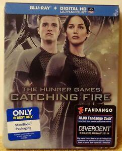 HUNGER-GAMES-CATCHING-FIRE-Blu-ray-Steelbook-BEST-BUY-EXCLUSIVE-OOS-OOP