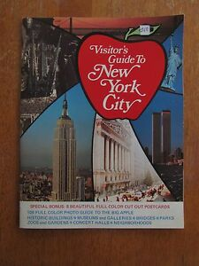 ANCIEN GUIDE NEW YORK WORLD TRADE CENTER 1976 4I8u0Ih6-09121505-183466737