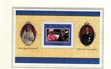 (74167) Samoa Queen Golden Wedding 1997 Minisheet - MNH U/M Mint