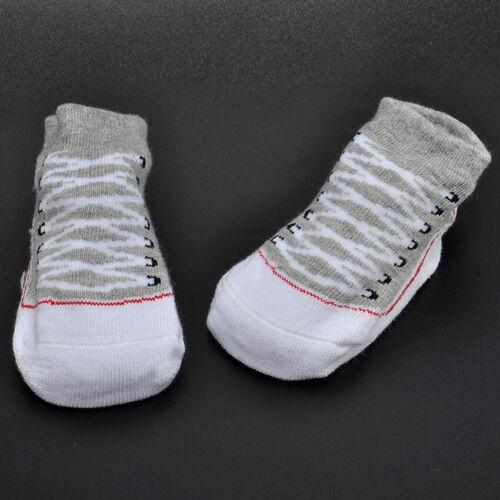 Newborn Infant Baby Girls Boys Cotton Anti-Slip Warm Socks Slipper Shoes Boots