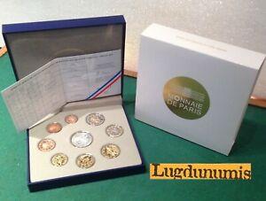 Coffret BE 2012 France 9 pièces 10 Euro + 2 Euro à 1 Centime Belle Epreuve